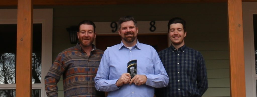 Scott Carr, Ryan Frey, Austin Jochim win MBIA Builder of the Year